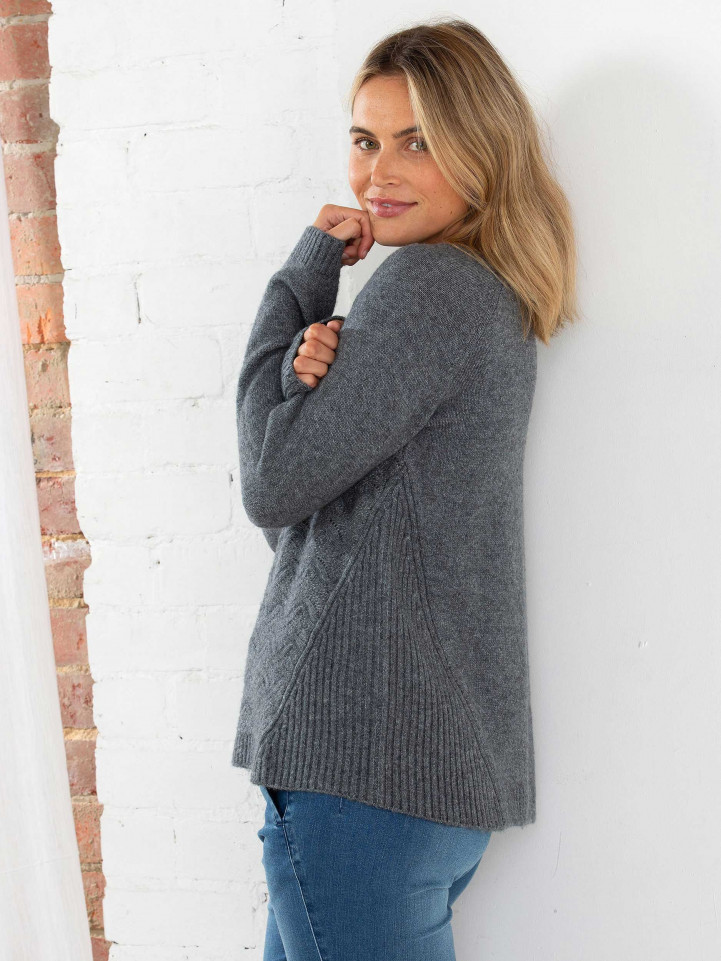 Wave Cable Knit