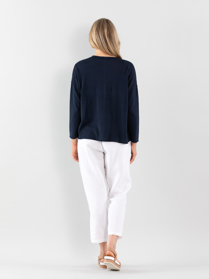 Relaxed Essential Sweater