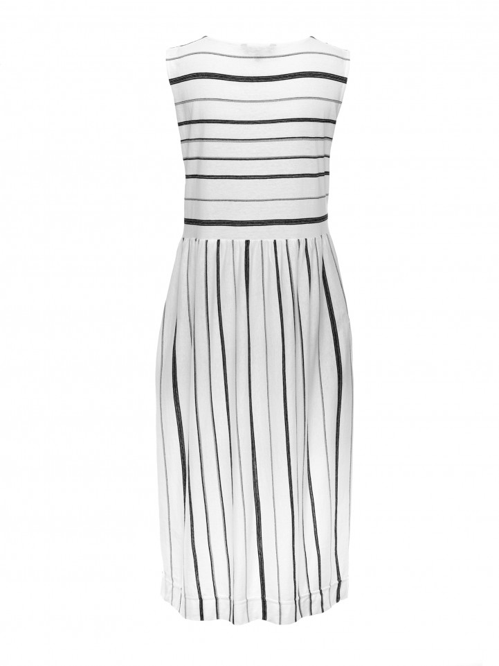 Spun Stripe Dress
