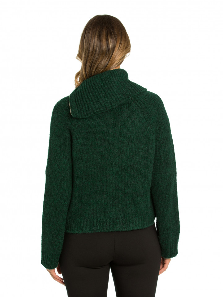 Relaxed Zip Sweater