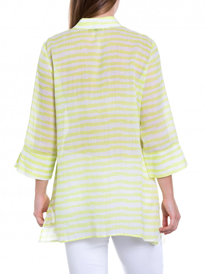 Jaggered Stripe Shirt