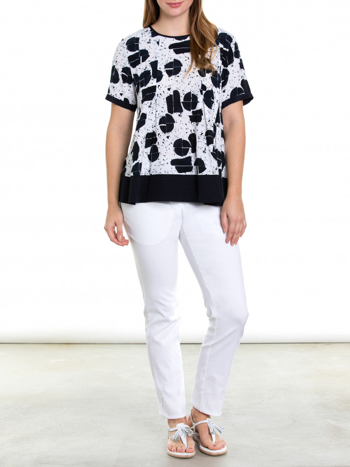 S/s Nautical Spot Shirt