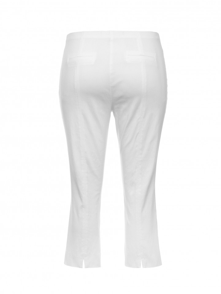 White Seam Detail Pant