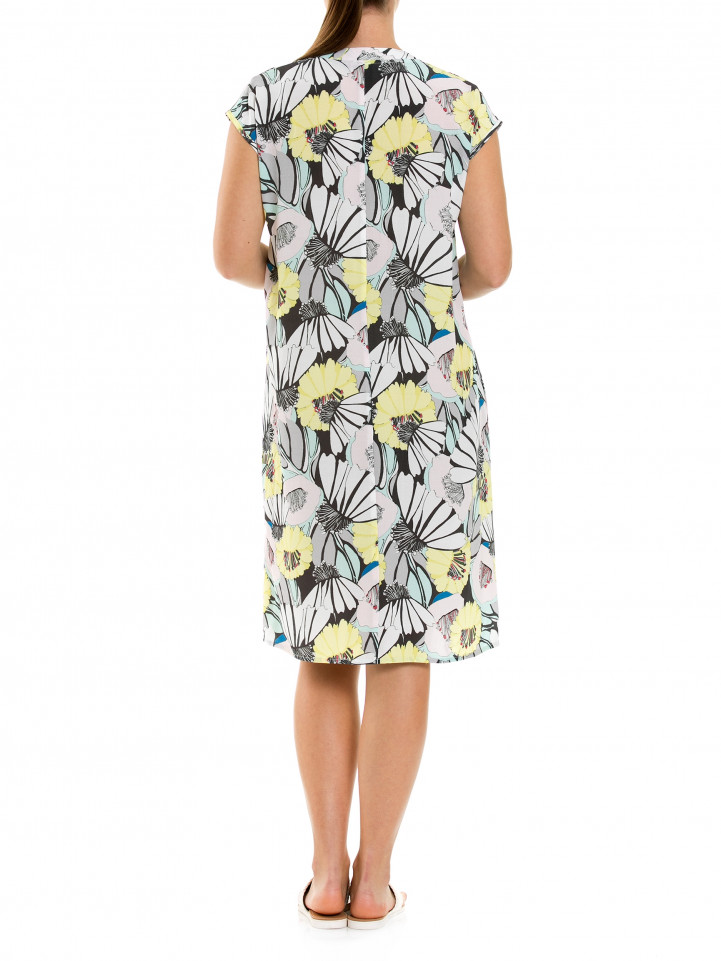 Cap Slv Blossom Dress