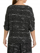 Elbow Fine Stripe Top