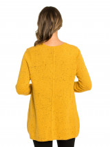 Relaxed Fleck Knit
