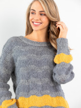 Wave Knit Sweater