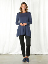 Liberty Blue Relaxed Tunic