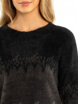 Fluffy Gradient Sweater