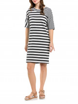 S/s Twin Stripe Dress