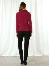 L/s Cowl Nk Sweater