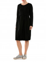 3/4 Slv Gathered Hem Dress