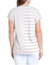 S/s Twin Stripe Tee
