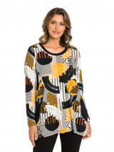 Abstract Split Tunic