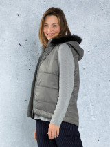 Quilted Puffer Vest