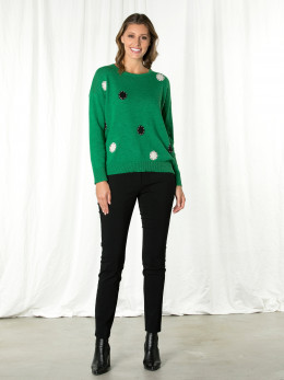Long Sleeve Spot-on Relaxed Sweater