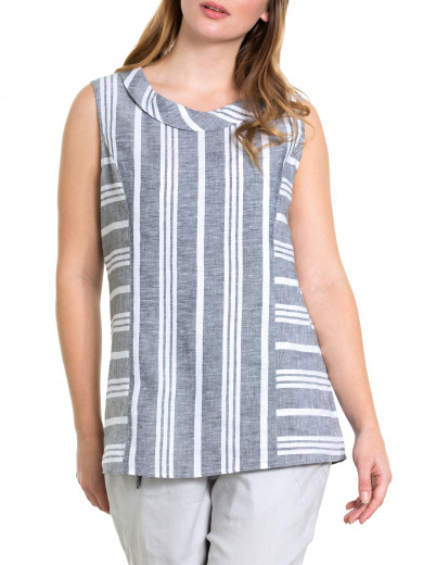 Splice Stripe Tank