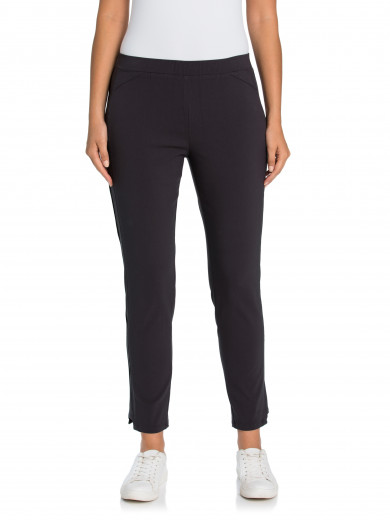 Coal Panelled Tappered Pant