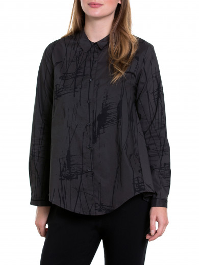 L/s Abstract Shirt