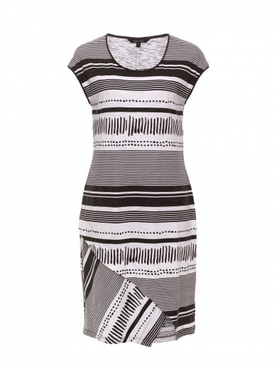 Gravel Stripe Dress