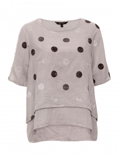Layered Spot Shirt