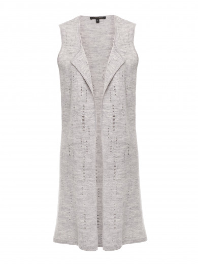 Smoke Cut-out Gilet