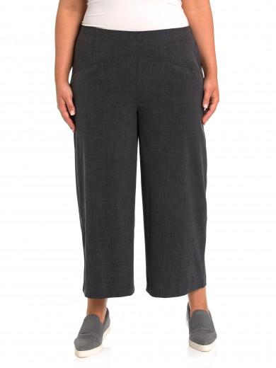 Coal Cross Over Wide Pant - Plus Size