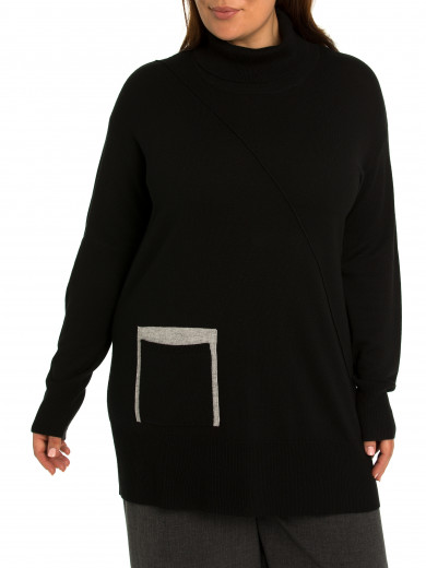 Spliced Tunic - Plus Size