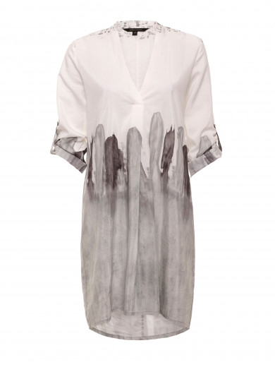 Grey Mist Waterwash Shirt