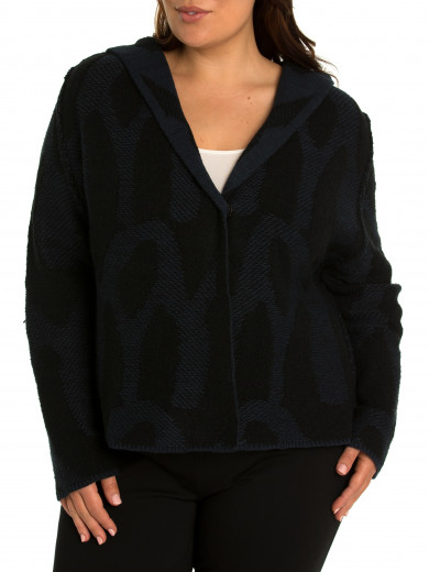 Billow Mix Cardi - Plus Size