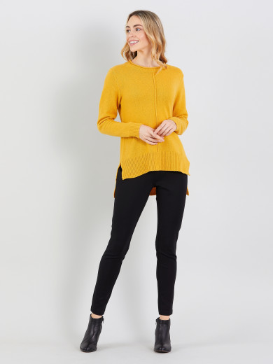 Step Hem Sweater