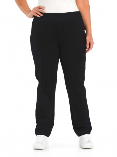 Pull On Ponte Pant - Plus Size