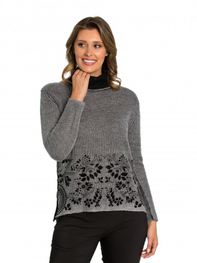 Ornate Hem Sweater
