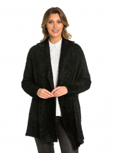 Two-way Fluffy Cardigan