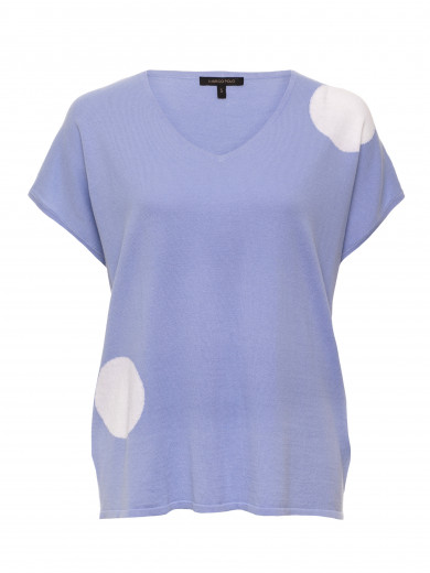 Blue Bell Big Spot Knit Tee