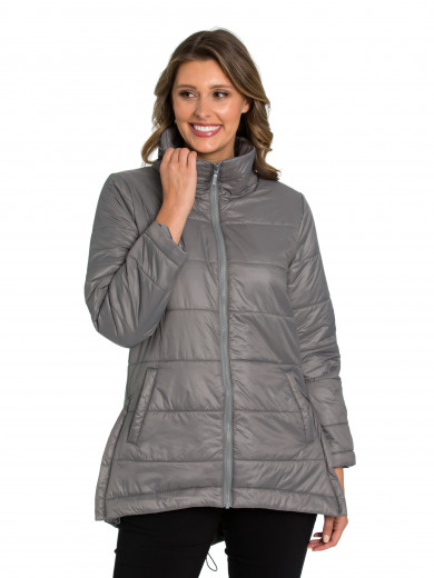 Pebble Quilted Puffer Coat