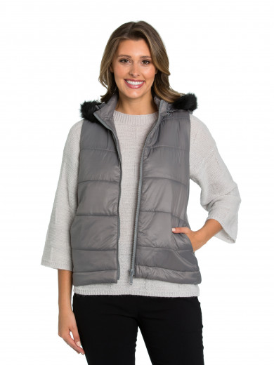 Pebble Quilted Puffer Vest