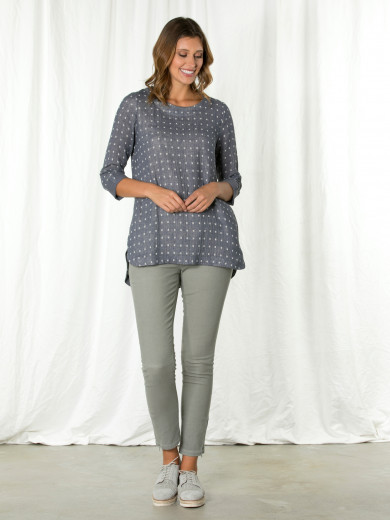 3/4 Mini Square Tunic