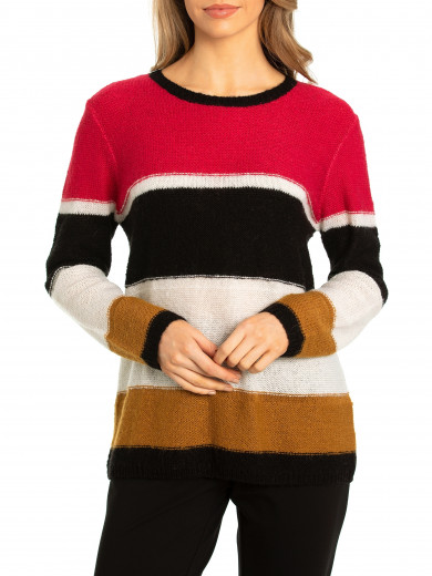 Link Stripe Sweater