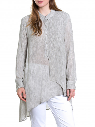 Textured Splice Shirt