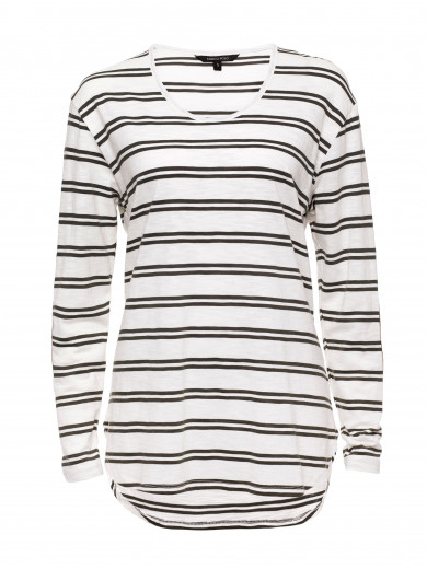 Evergreen Double Stripe Tee