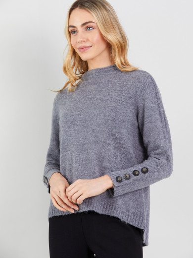 Snap Button Knit