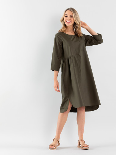 Relaxed Cotton Dress