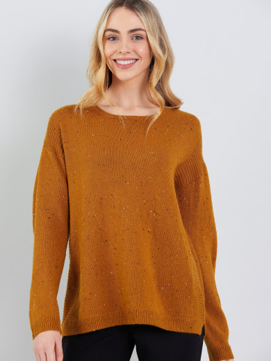 Rib Detail Sweater