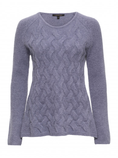 Cross Cable Sweater