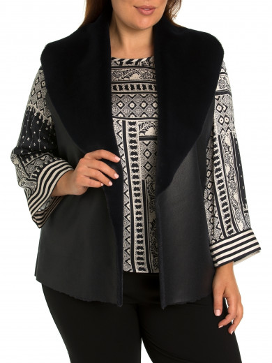 Winter Luxe Vest - Plus Size