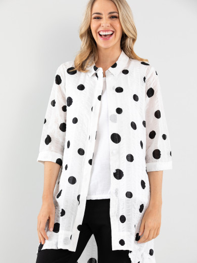 City Spot Shirt Jacket