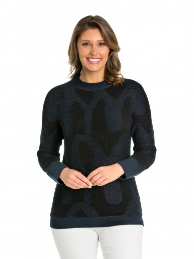 Billow Mix Sweater