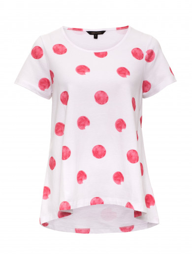 Watermelon Blotch Swing Tee