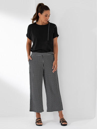Relaxed Spot Pant